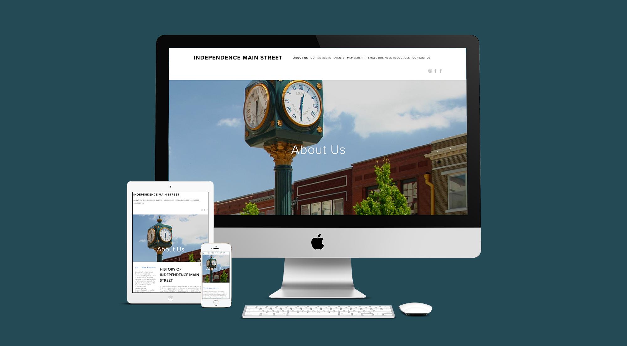 Independence Main Street Website