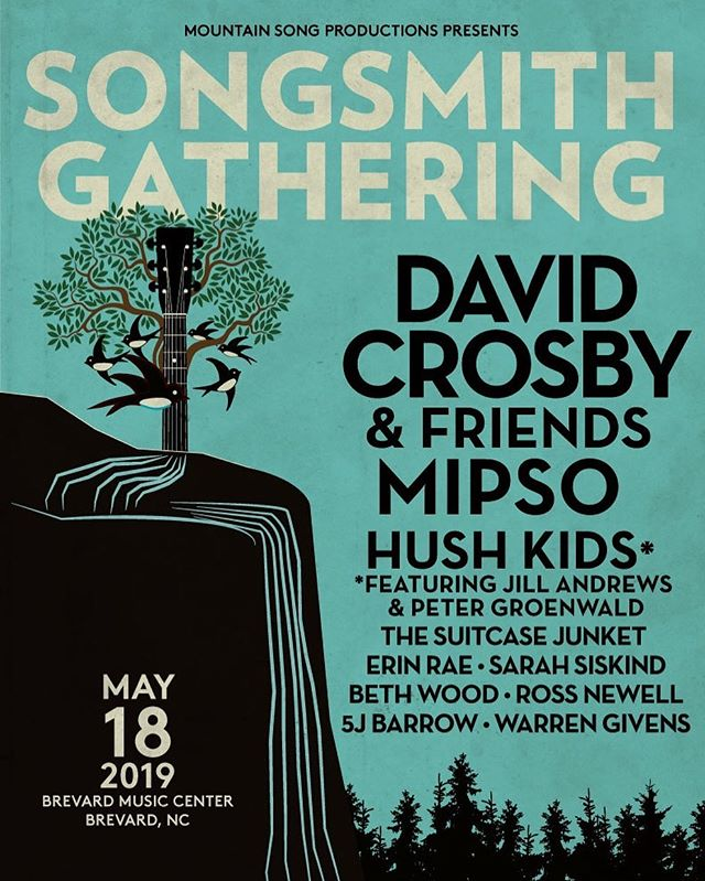 @songsmithgathering this wknd in brevard // gonna be a beautiful day by the lake with a brand new band