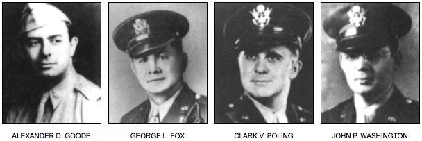Children of Fallen Patriots Foundation Remembers Four Chaplains
