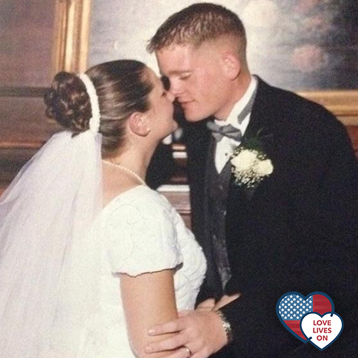 Surviving military wife remembers her fallen husband with the support of Children of Fallen Patriots Foundation
