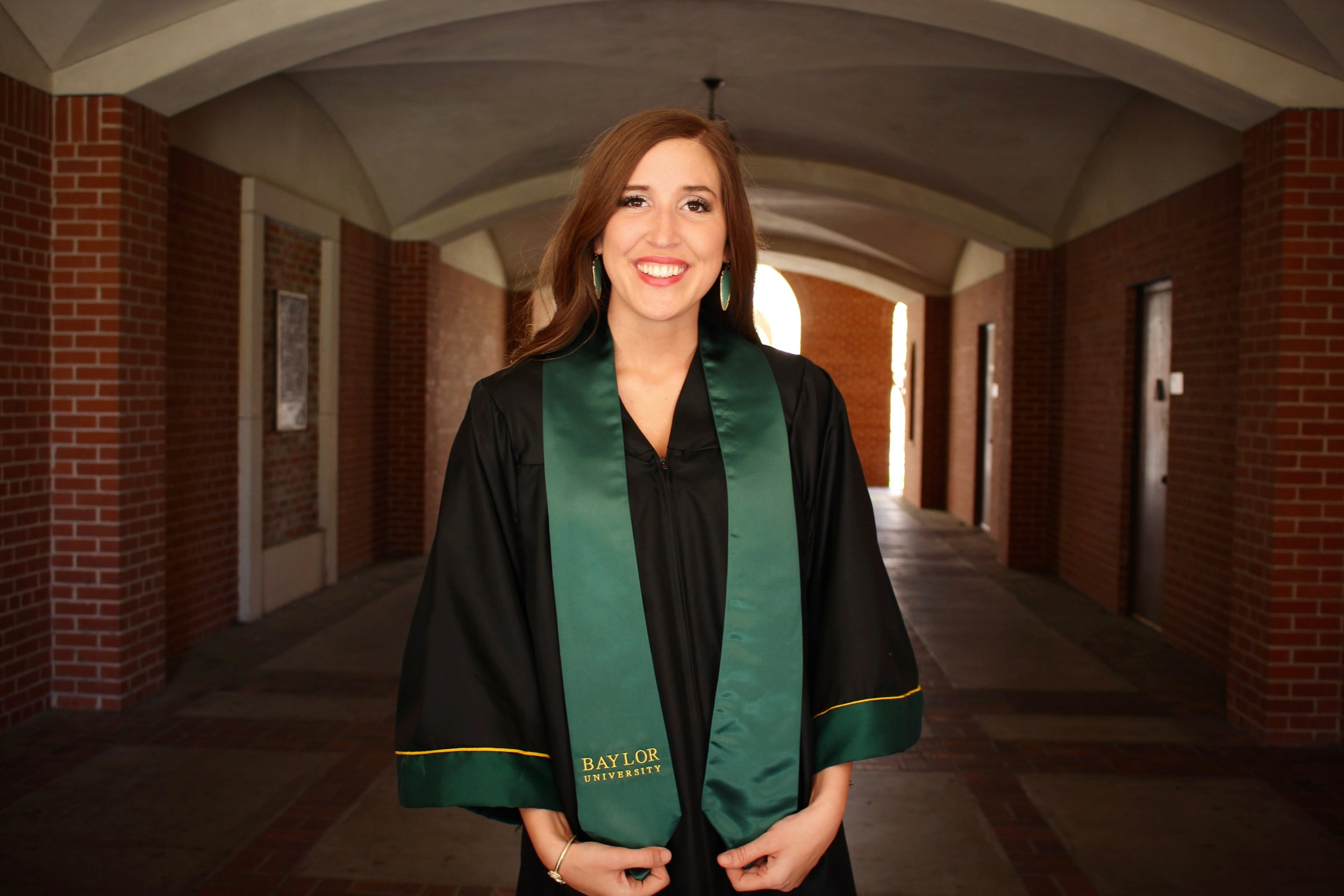 """""""Because of the financial help of Fallen Patriots, I was able to have the most incredible experiences that not only shaped my college career, but also me as a person,"""" Hartwick explained. """"Thanks to their generous contribution, my brother and I can walk away from college debt-free, which is a huge blessing for my mother and our family."""""""