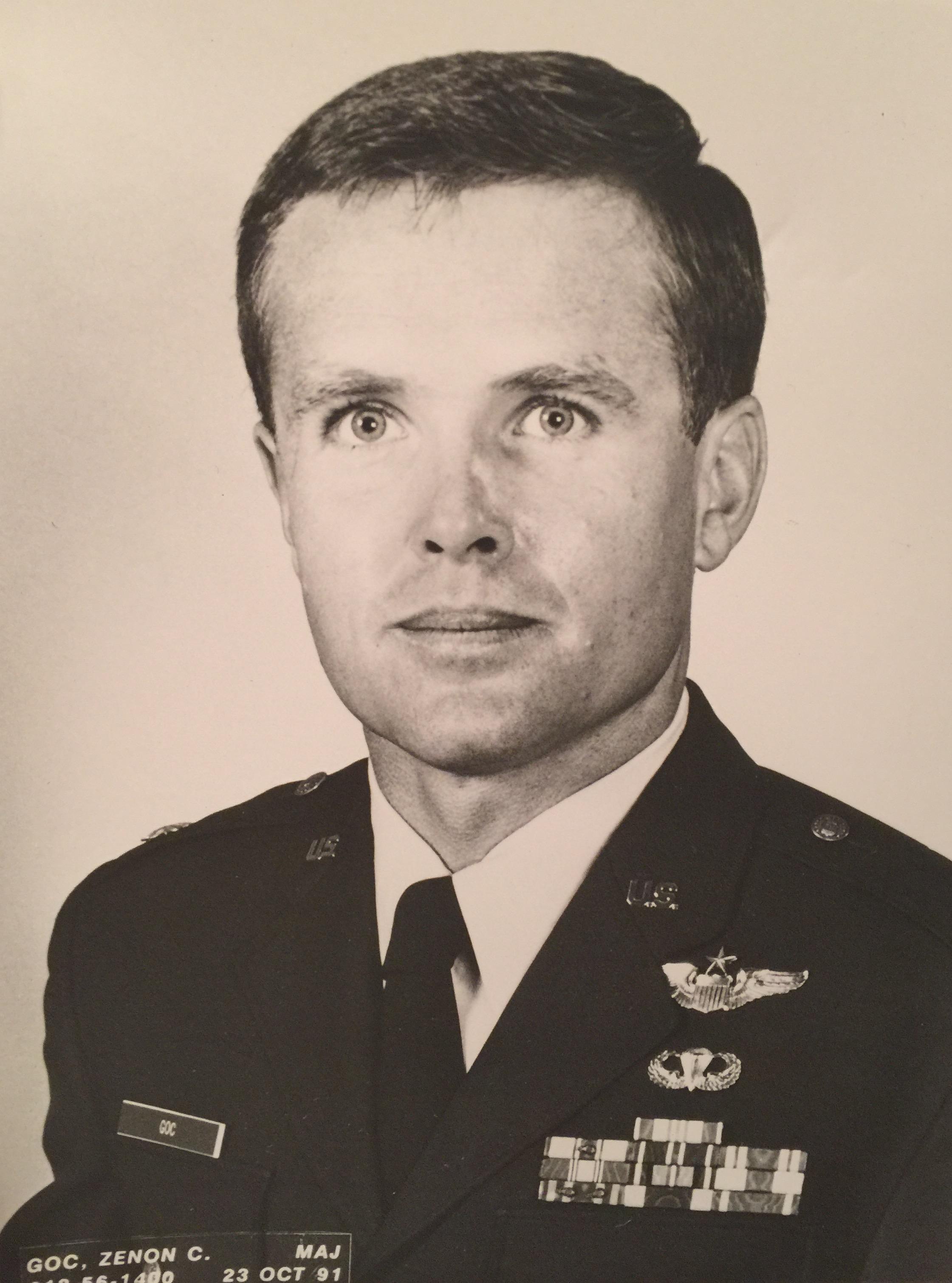 Air Force Maj. Zenon Goc, who was killed in a B-1 Bomber crash in 1992. (Children of Fallen Patriots Foundation)