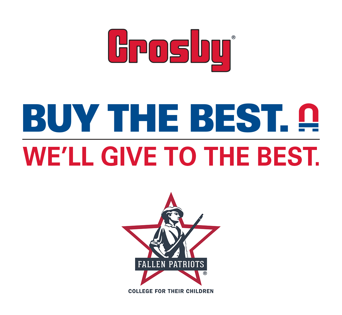 "The Crosby Group's ""Rigging for the Troops"" campaign has reached $16,500."