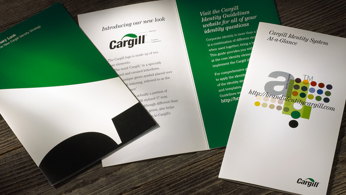 Cargill identity strategy and brand identity guidelines at-a-glance reference guide