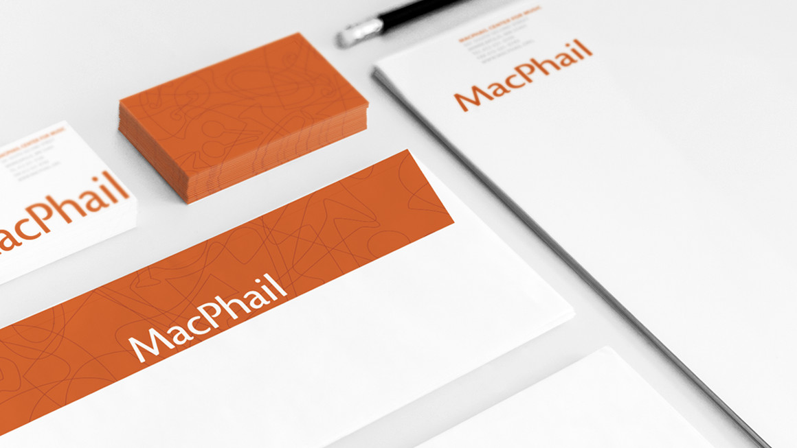 MacPhail stationery design