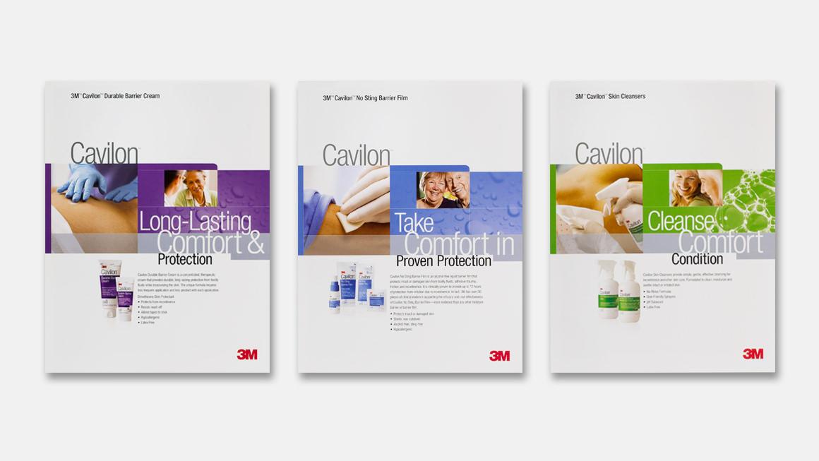 3M™ Cavilon™ brochure cover design
