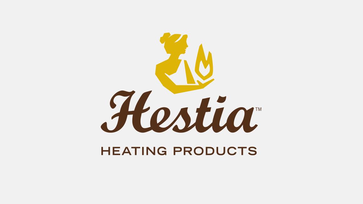 Hestia Heating Products corporate logo design
