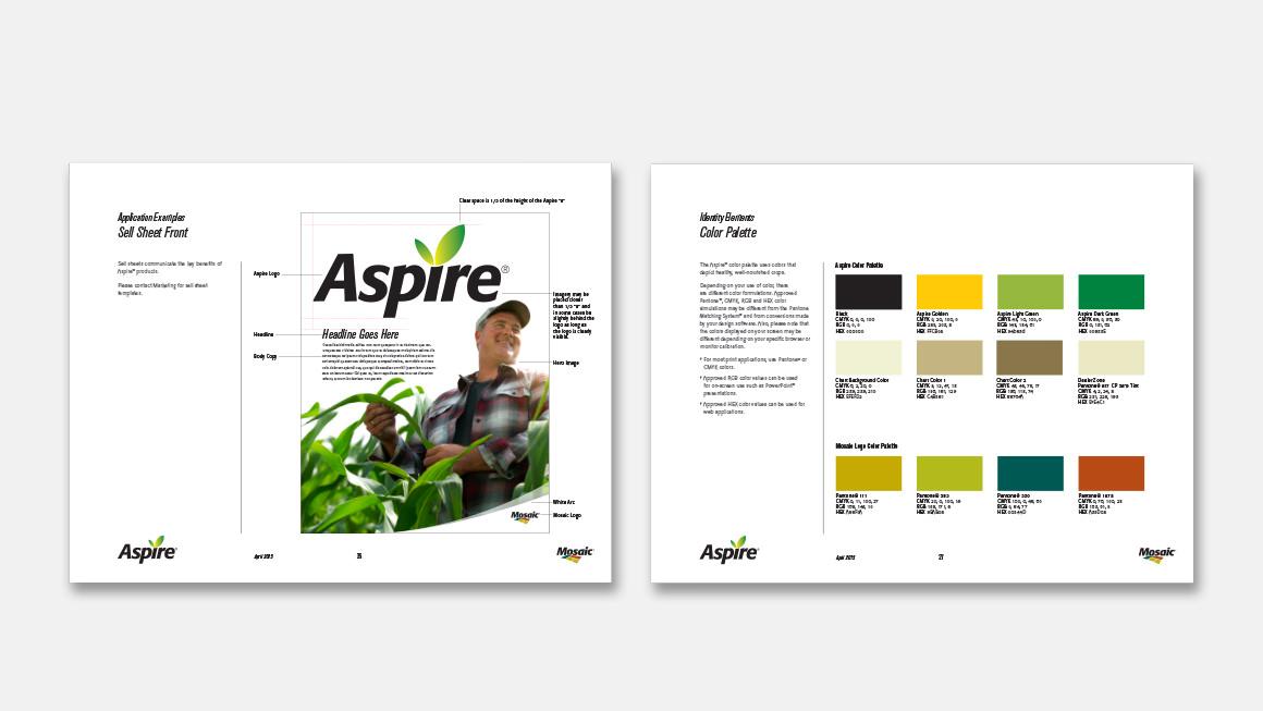 Aspire brand identity guidelines