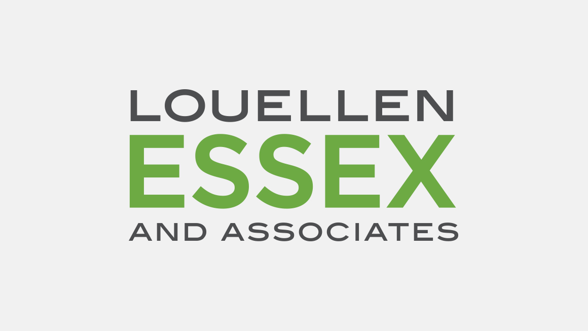 Louellen Essex and Associates logo design