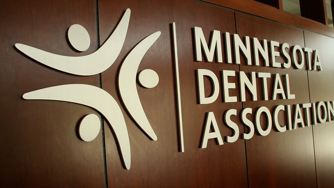 Minnesota Dental Association signage