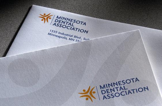 Minnesota Dental Association stationery