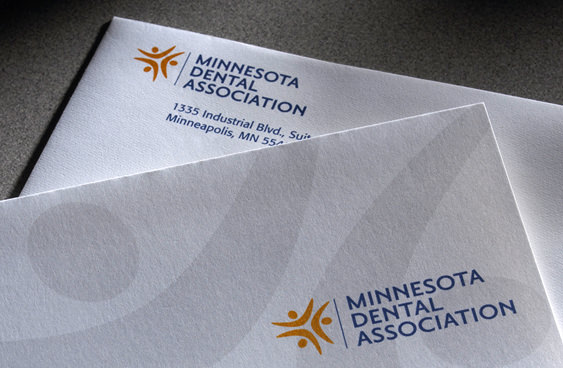 Minnesota Dental Association stationery
