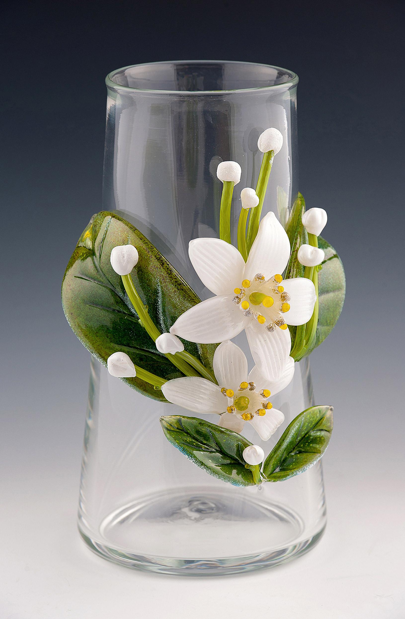 Orange Blossom Vase.