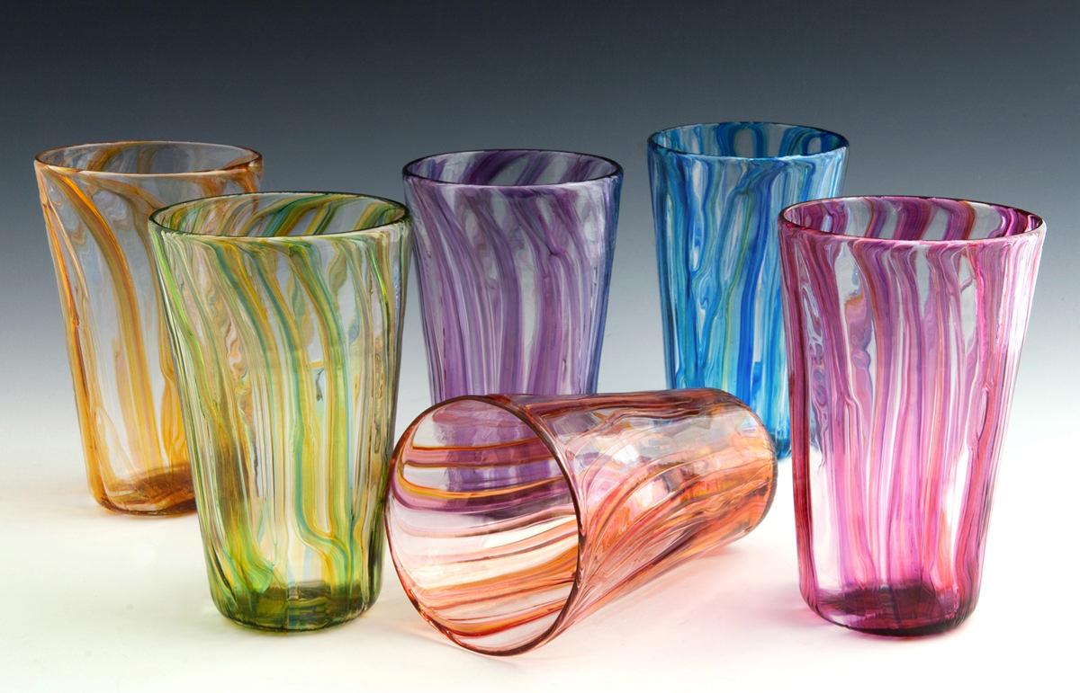 River Pint Glasses.