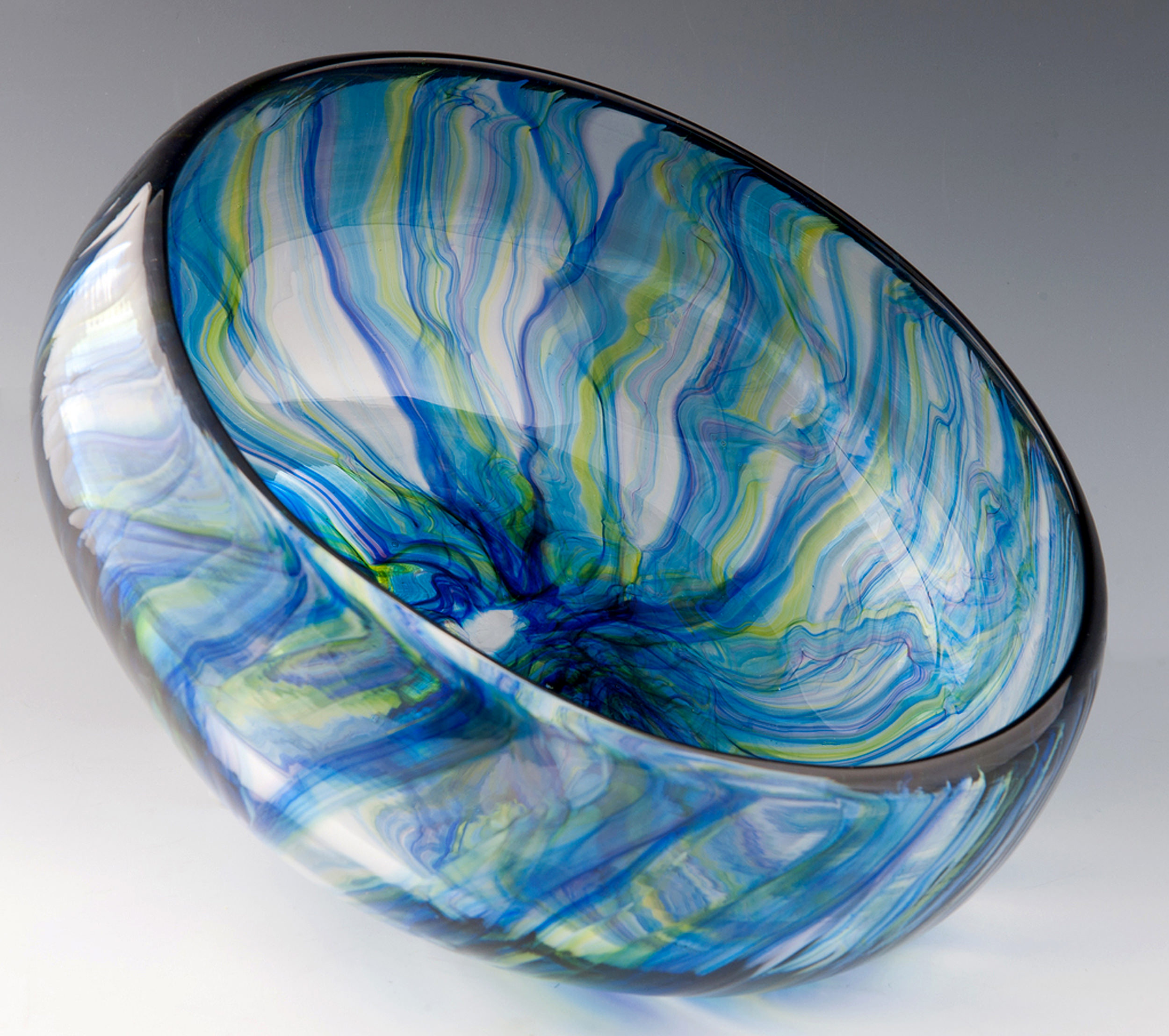 River Bowl, seen here in Blue Ribbons.
