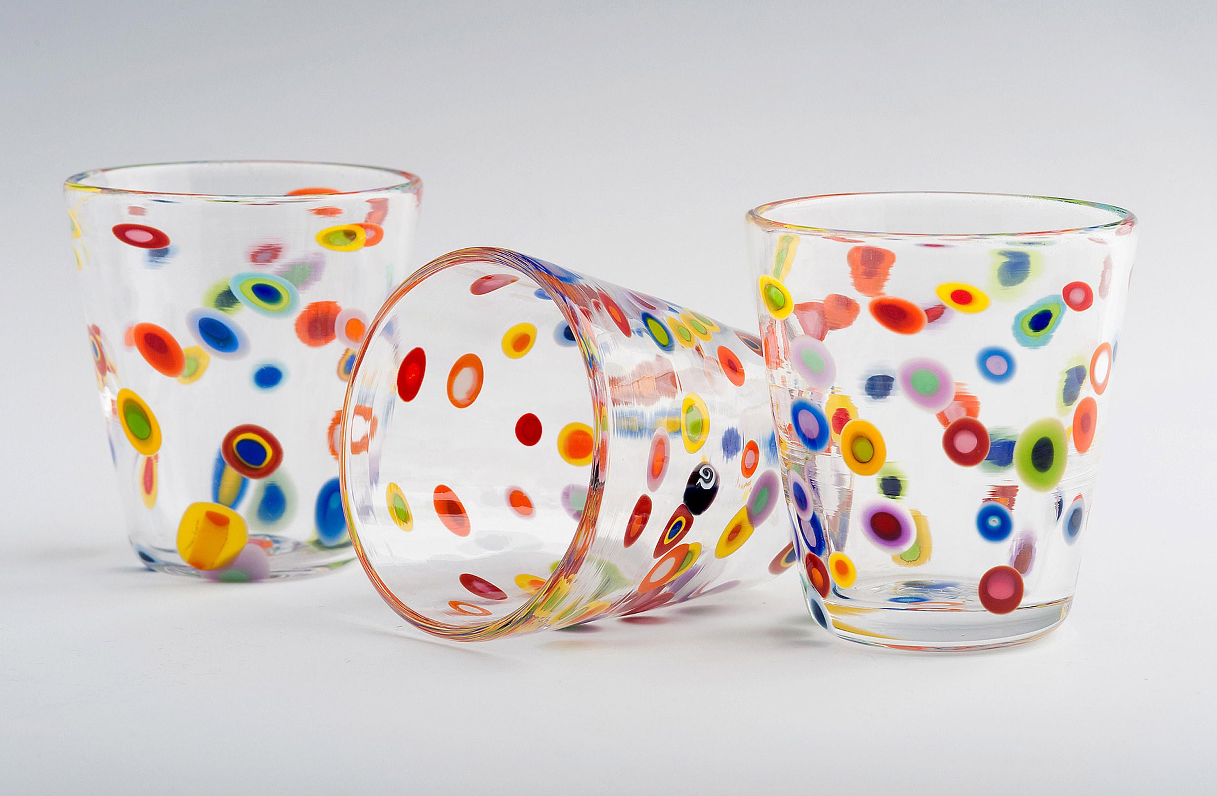 Superfruit Shot Glasses seen here in Superfruit Pattern.