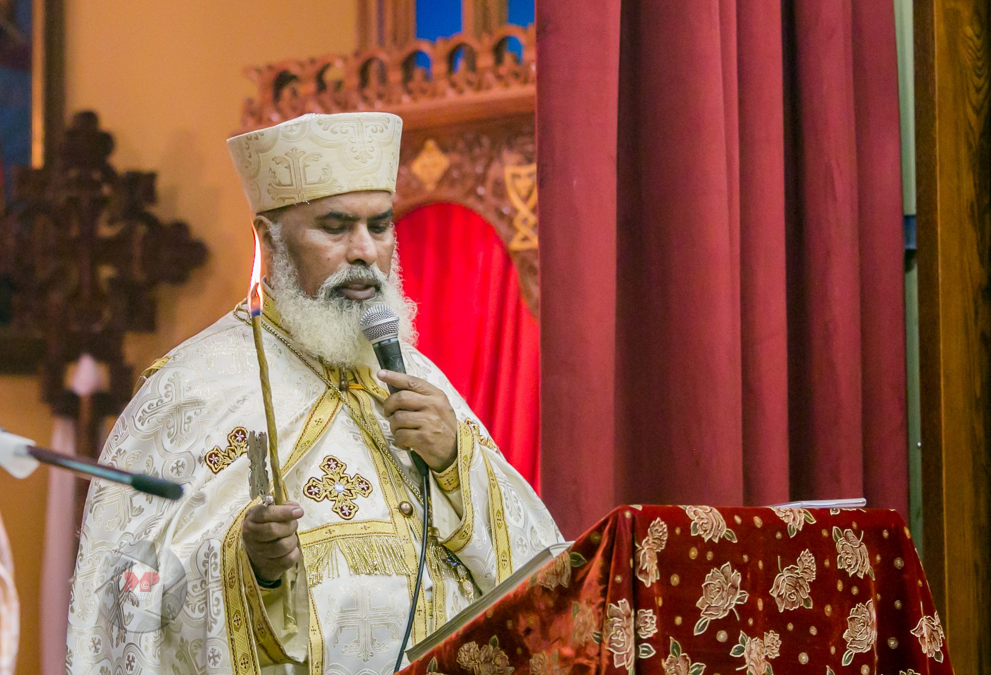 Divine Services @ EOTC - Menbere Berhan Kidest Mariam Cathedral