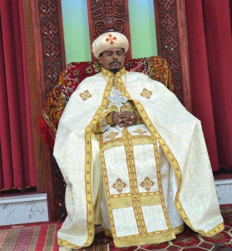 His Grace Archbishop Demetros - Ethiopian Orthodox Tewahedo Church Archbishop of the Diocese of Eastern Canada & its Surrounding Regions, including Ontario, Quebec, & Nova Scotia