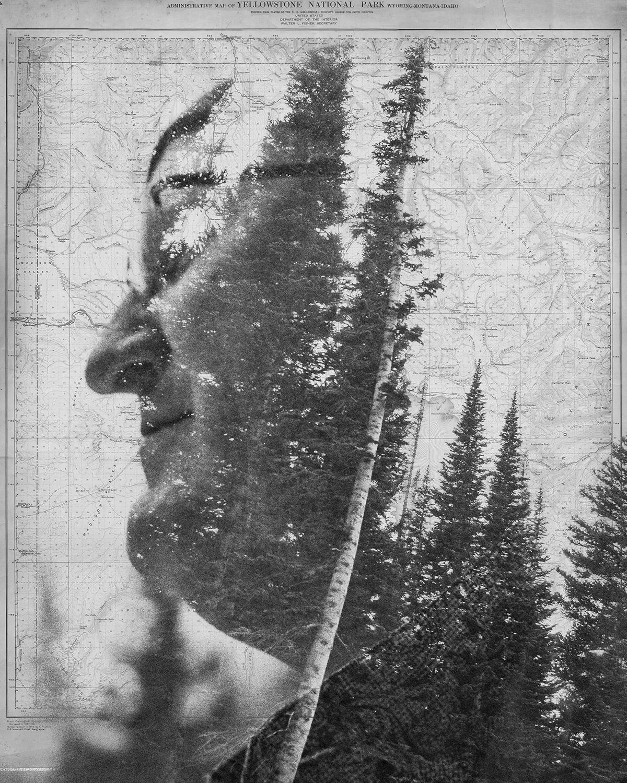 Dad  : digital collage, published in  Scribendi 2017