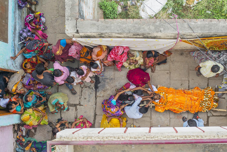 Life in Varanasi  : digital photograph, WRHC Award Winner, published in  Scribendi 2016