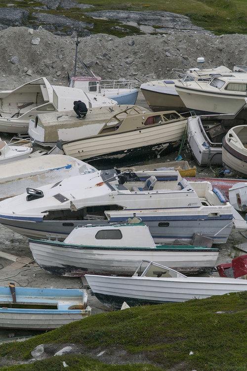 Boatyard photo Emile Barret for Hors Pistes
