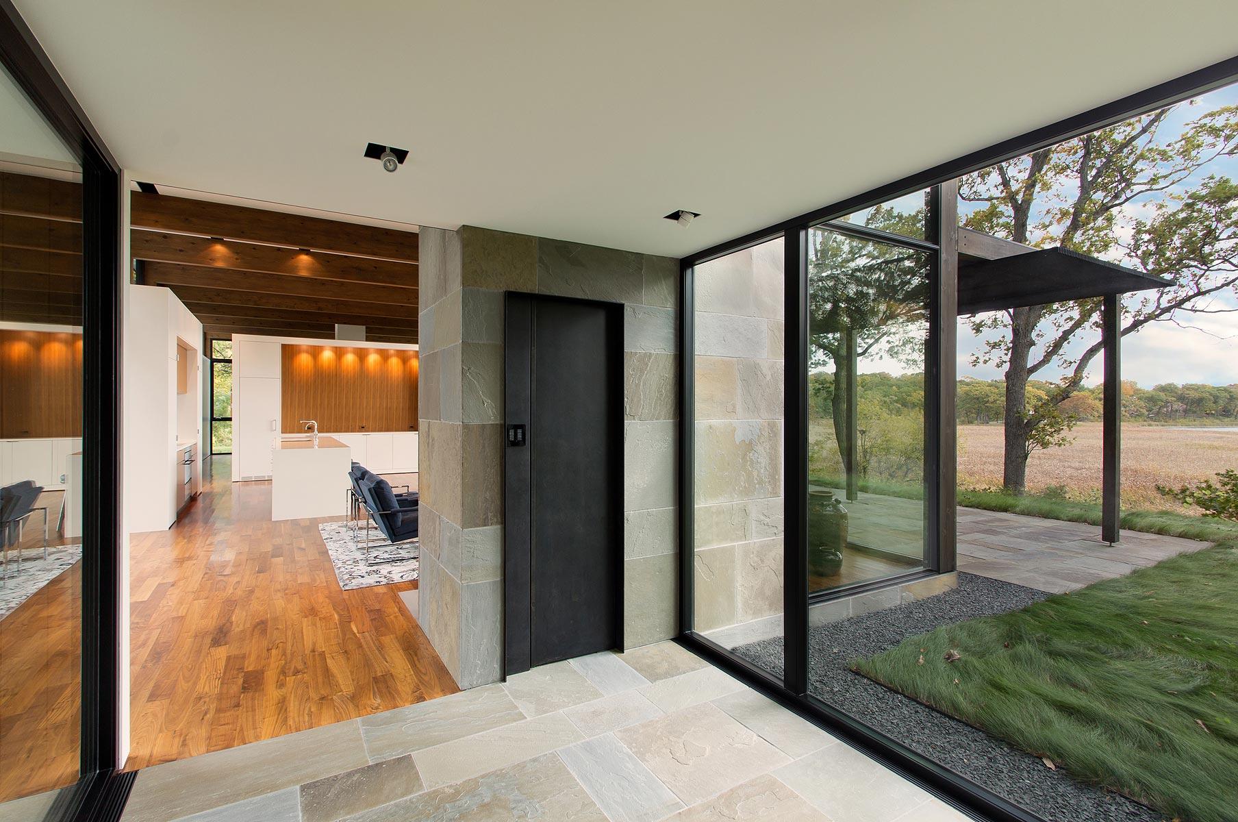 Woodland House Entry