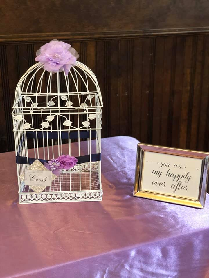 Lilac and Navy Blue Birdcage.jpg
