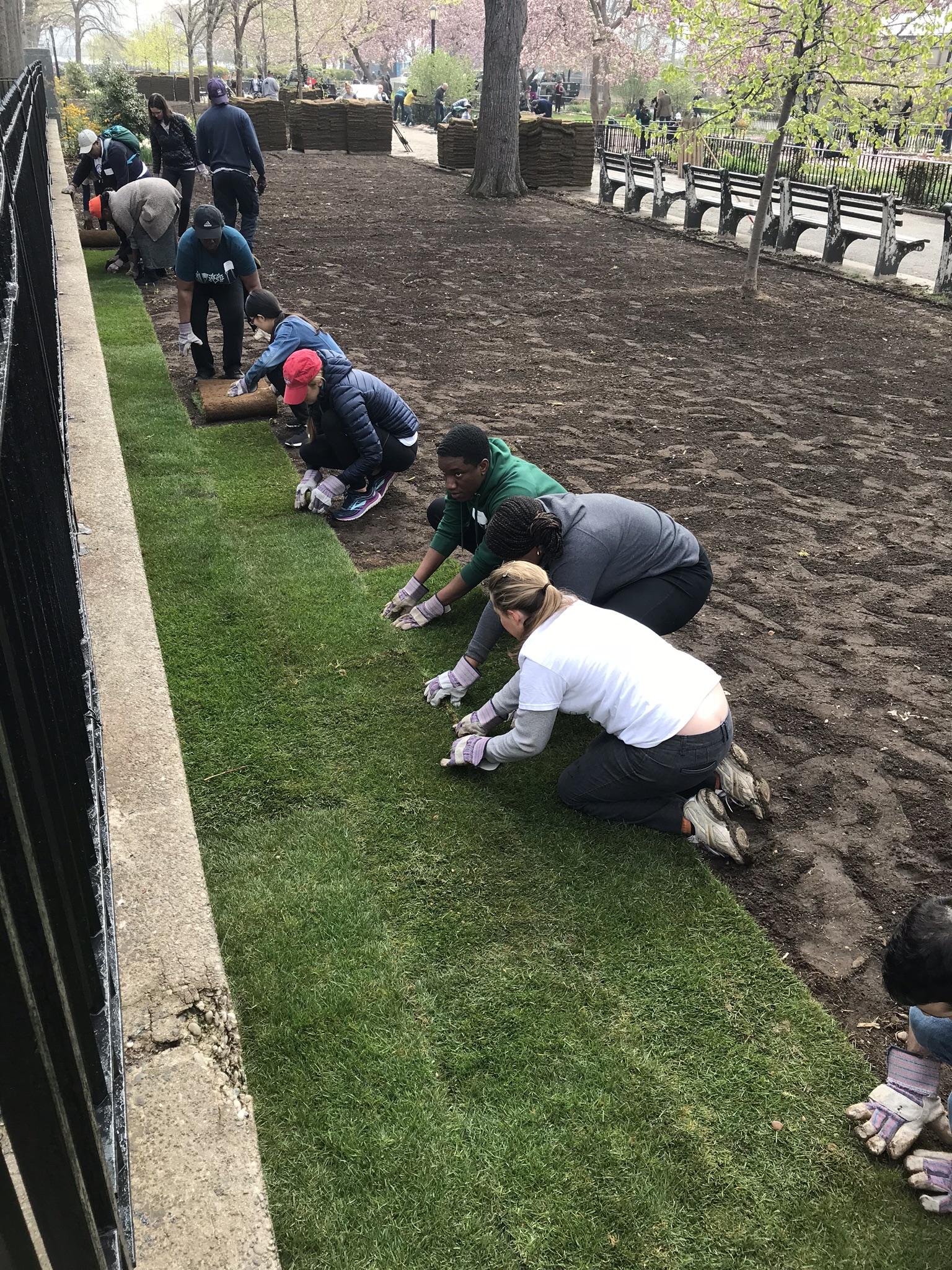New York Junior League Playground Improvement & Park Beautification Project