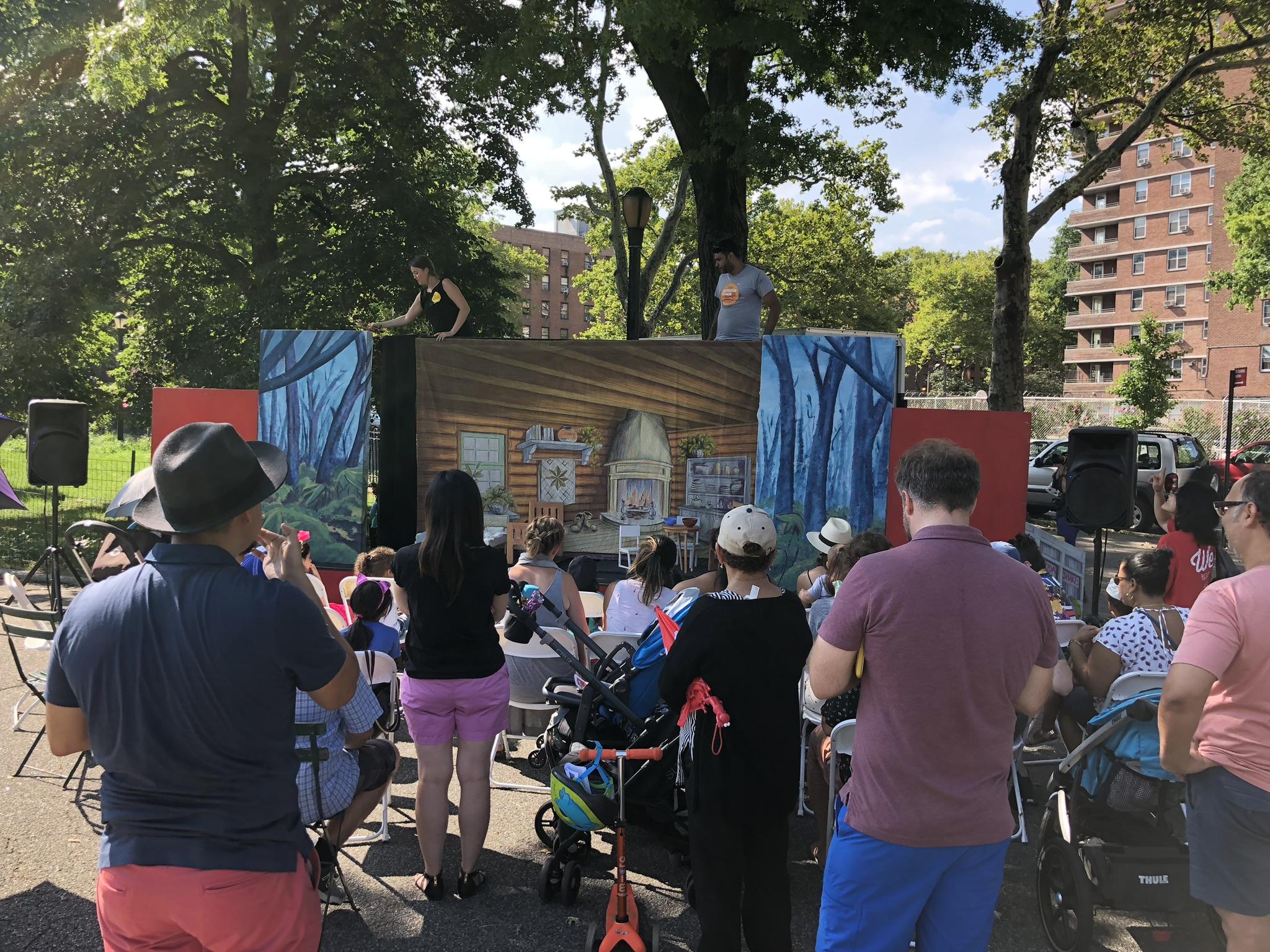 SummerStage Puppet Show
