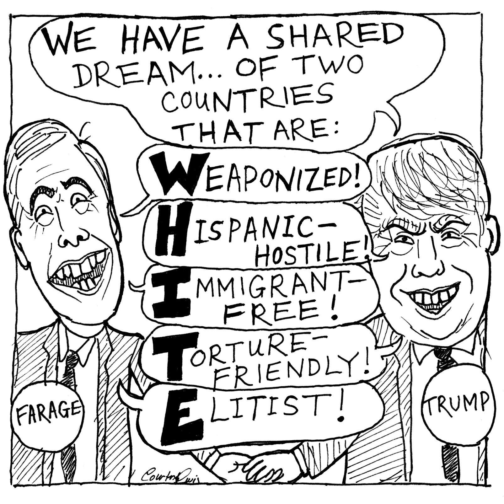 Nigel Farage rallies with Donald Trump (2016)