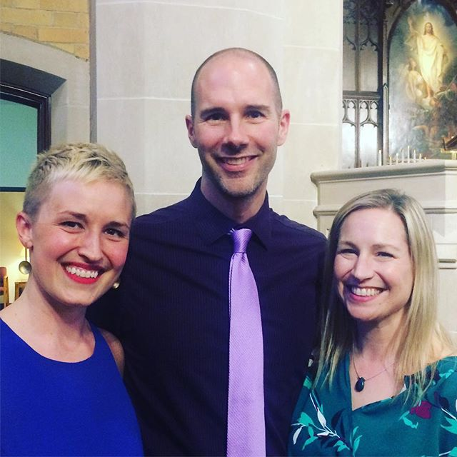 These two inspire me so much, and this spring has been filled with performing their gorgeous compositions.  In March I got to sing @jocelynhagenmus's new work 'The Notebooks of Leonardo DaVinci', today I sang Tim Takach's 'How to Triumph Like a Girl' and am looking forward to hearing @singersmn friends premiere Tim's HELIOS in just a few weeks ✨