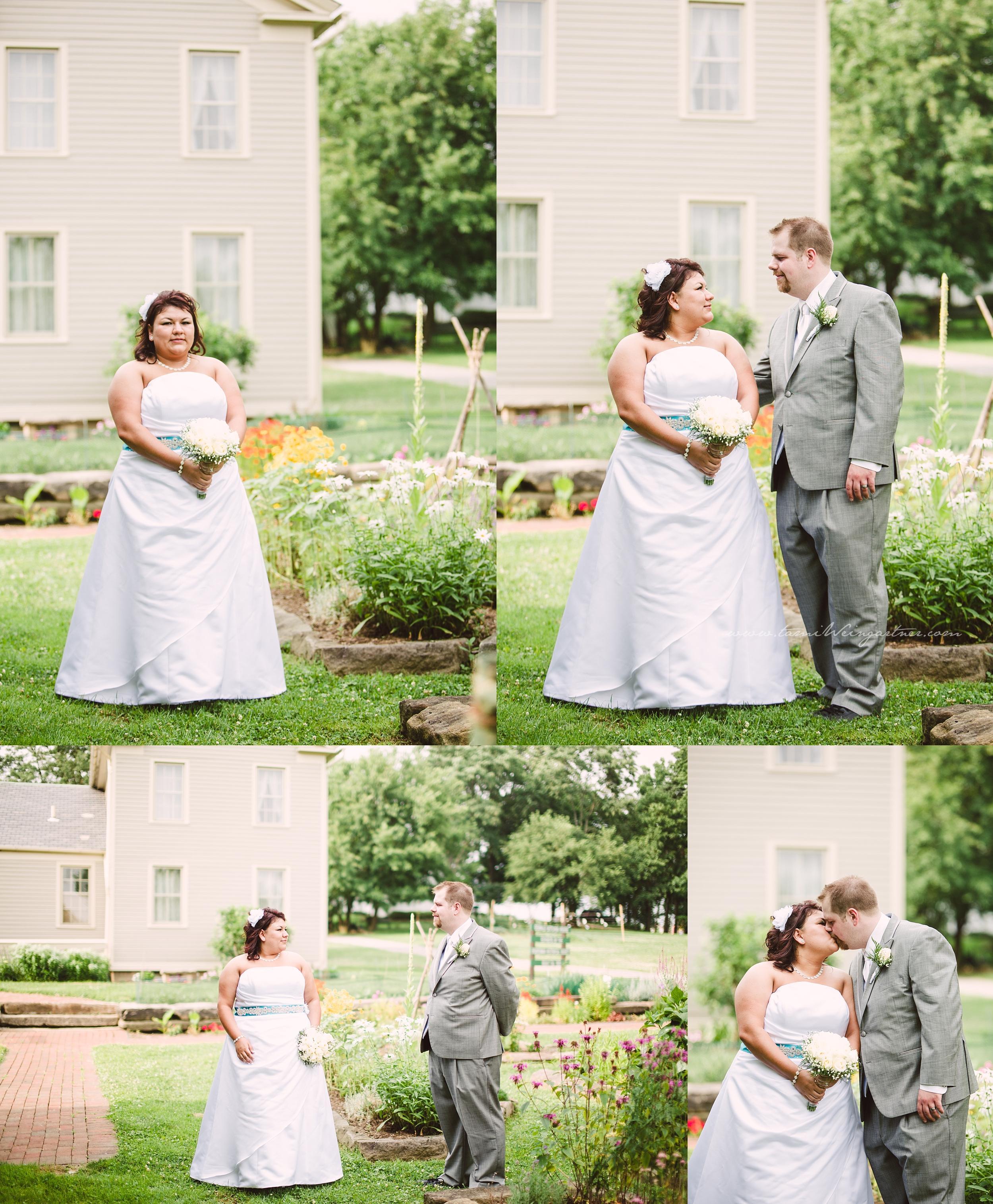 Plus size bride in Boardman Park OH