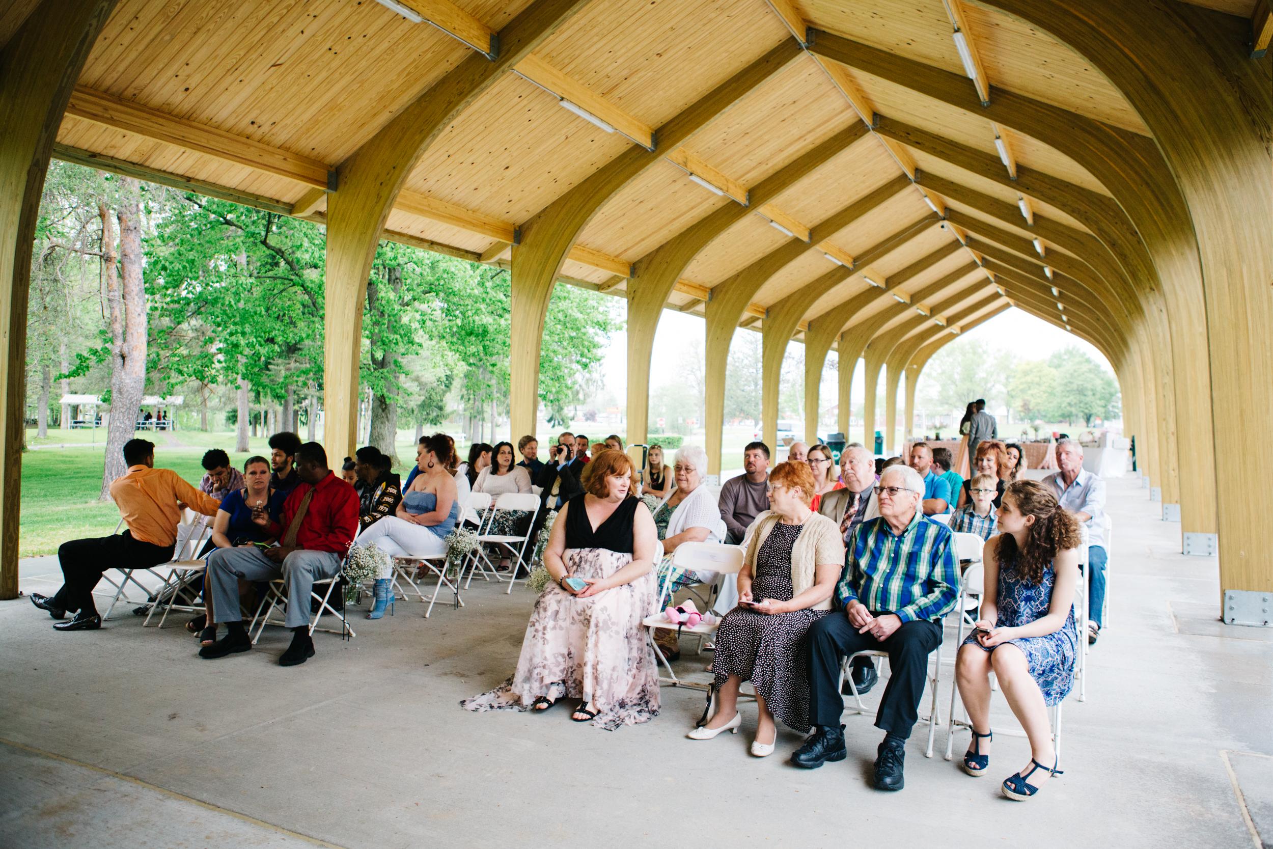 Picnic Shelter Wedding