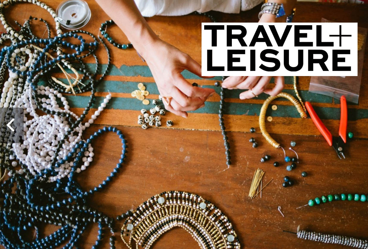 Travel + Leisure: The Akola Project.  Shop Akola Project .