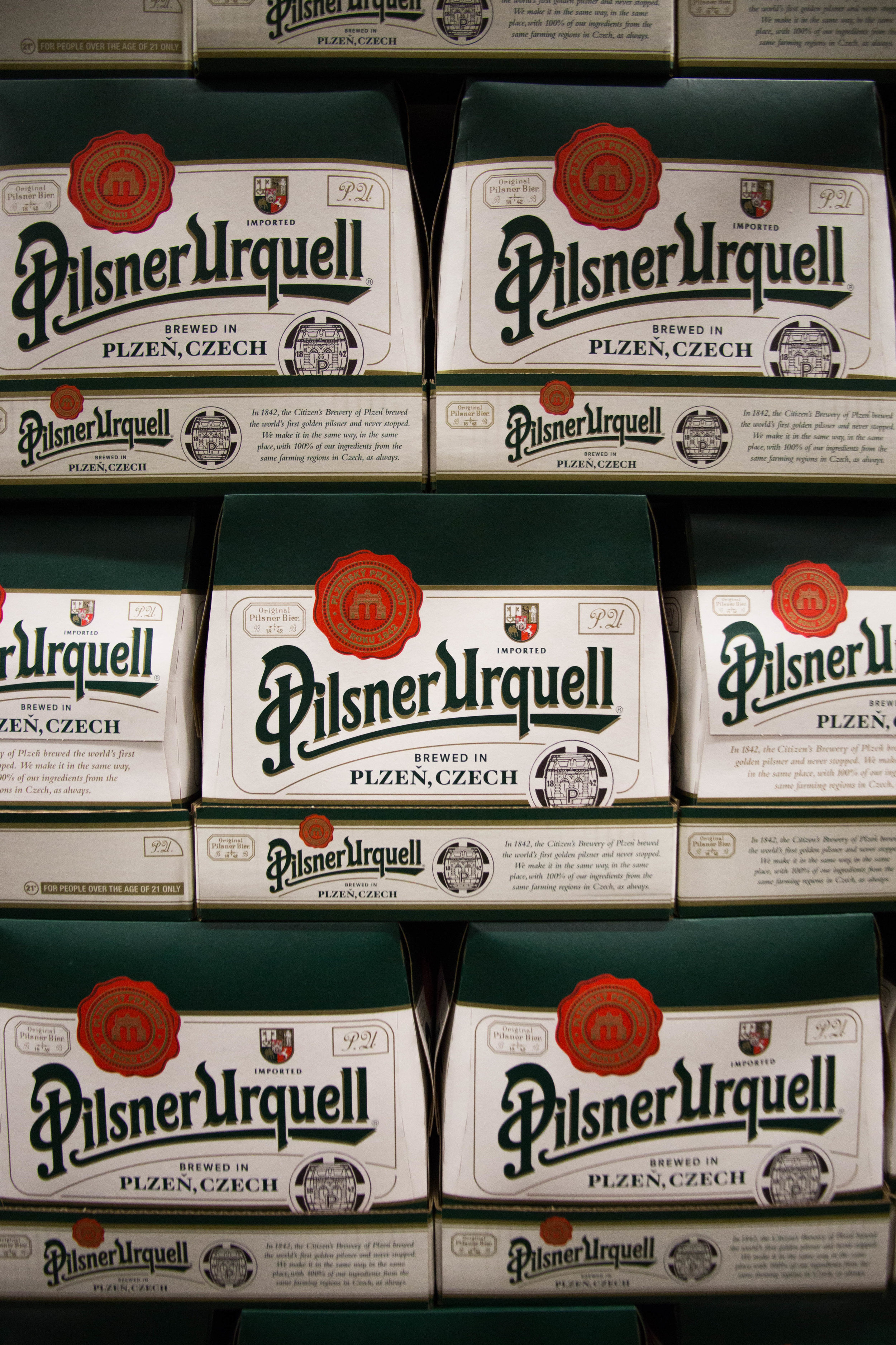 Town & Country Pilsner Urquell