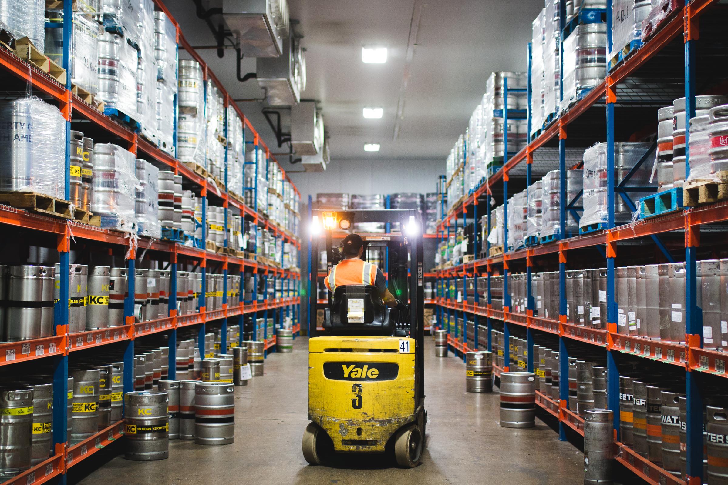 Lakeshore Beverage warehouse