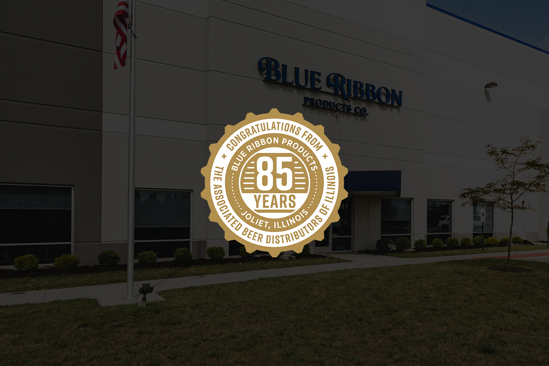 Blue Ribbon Products Badge