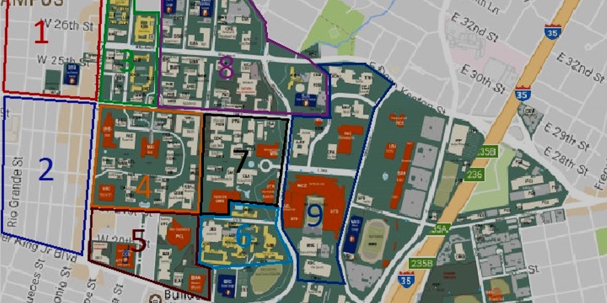 ZONE MAPPING - Maps of the campus