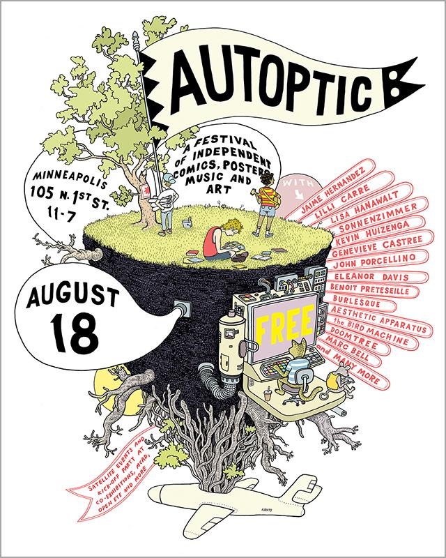 Autoptic Poster