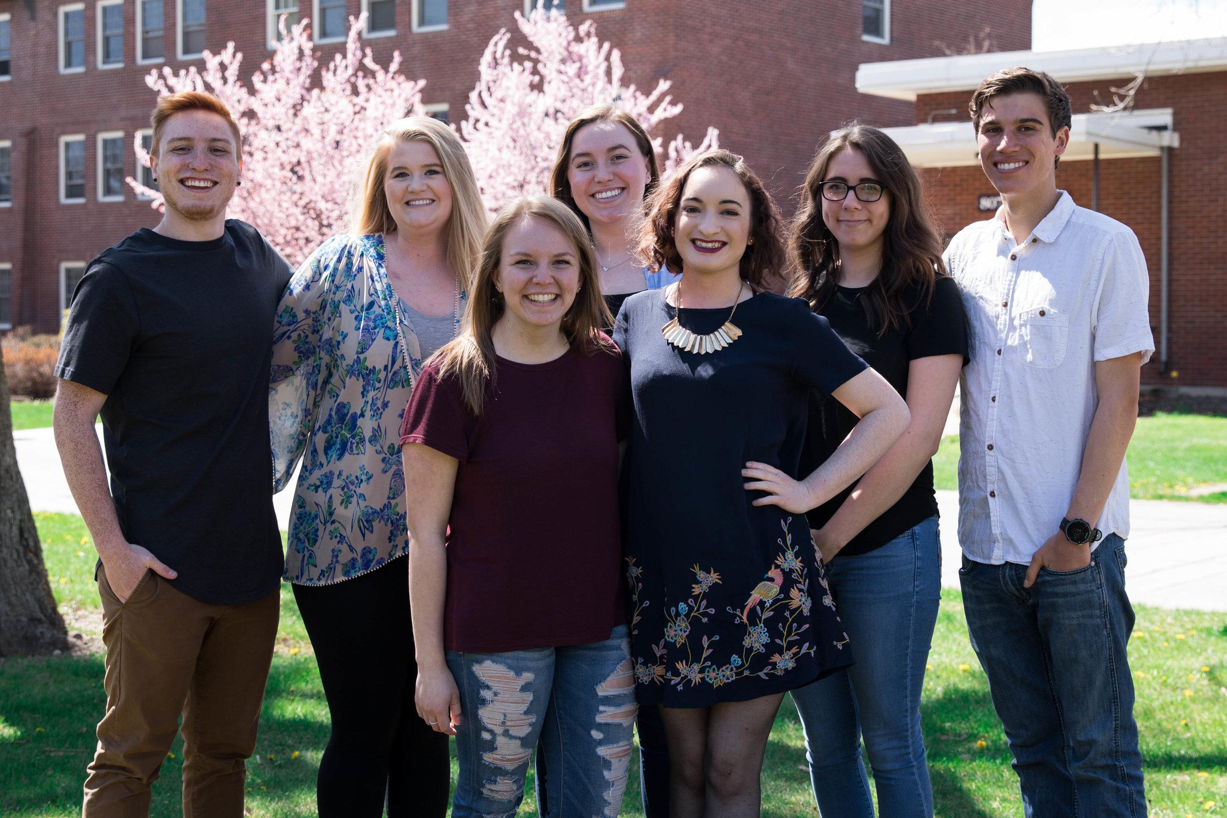 PULSE Leadership Staff, Spring 2018