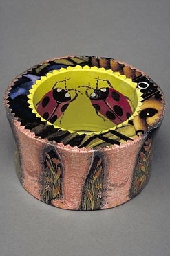 Bracelet with lady bugs, 2004
