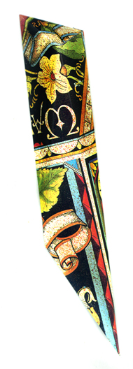Mezuzah-2L-Yellow-Flower-Scrolllarge190w