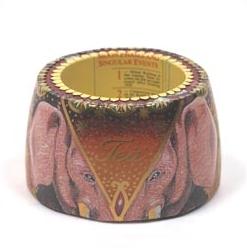 "Column bracelet with pink elephant head ""Tea"""