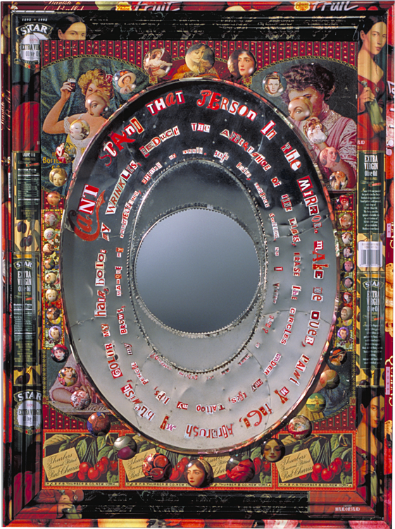 Identity complex mirror