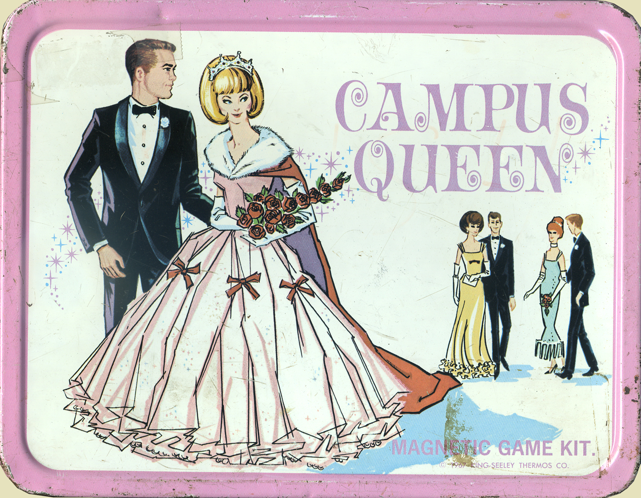 Campus Queen Lunch Box front