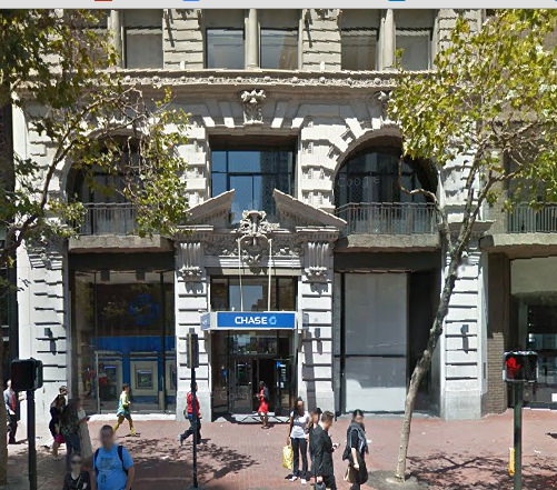 Building in downtown San Francisco near the  Contemporary Jewish Museum.  I used this building to model my tzedakah box.