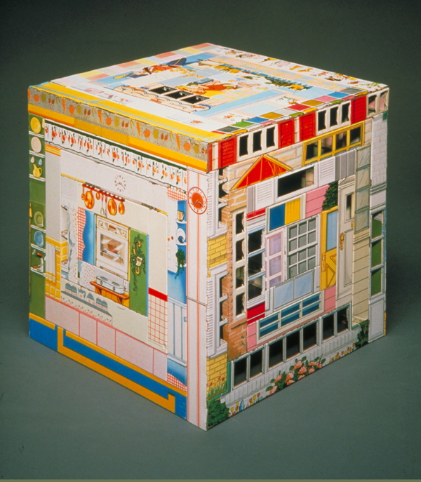 Patchwork Quilt, Small Pieces of Time   constructed from recycled tin cans.   Photo Credit: Philip Cohen