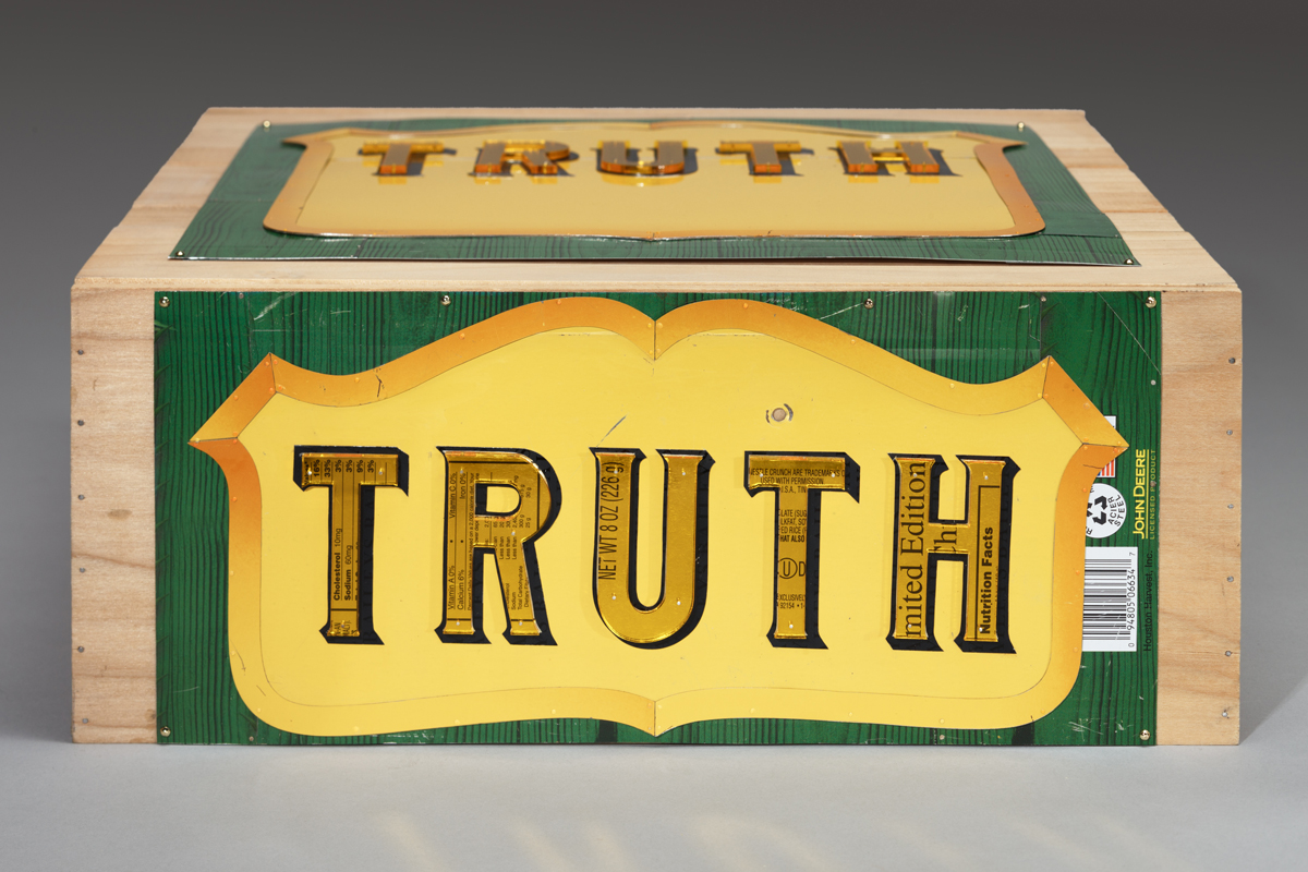 Truth commentary about our current political situation jewelry about 45 administration Alternative Facts, Circular Logic and Web of Lies.