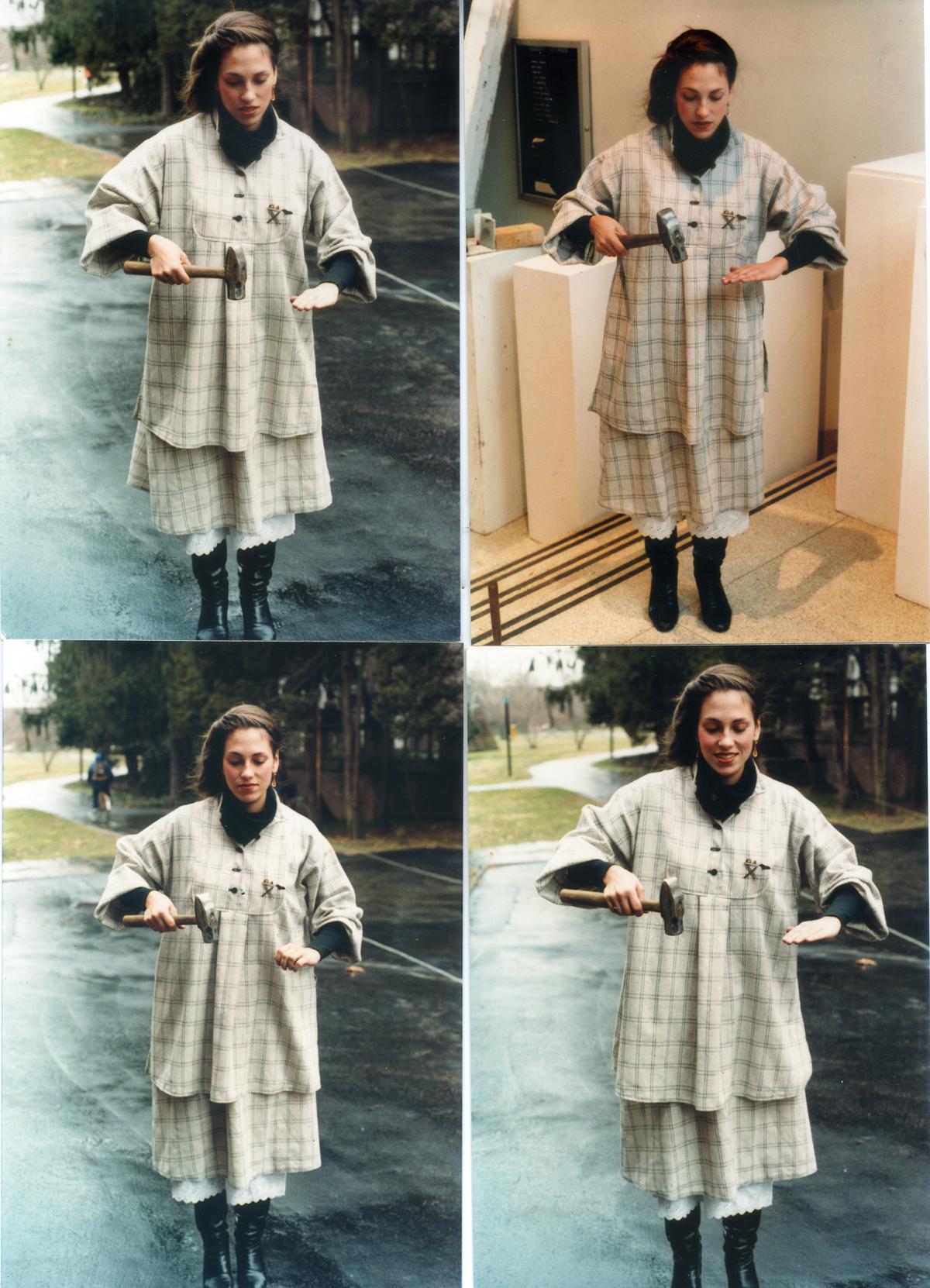 Photos of Harriete Estel Berman 1979 for Silver Iron