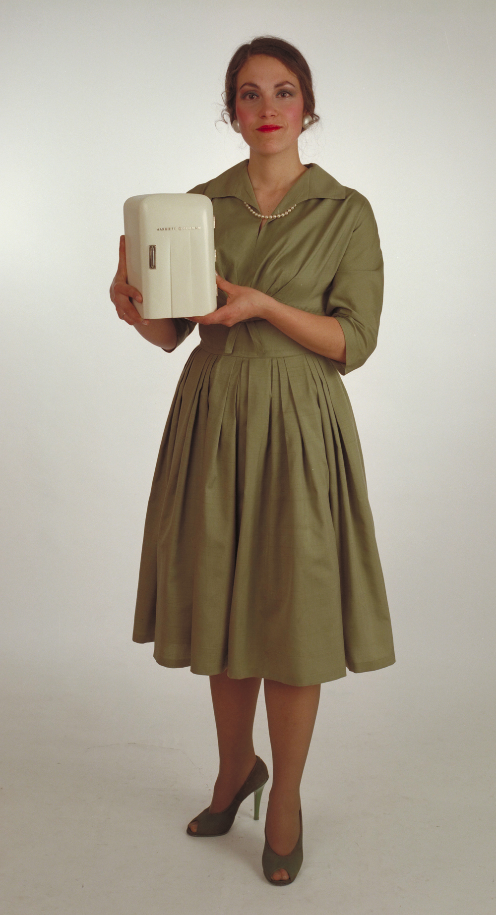 Harriete Estel Berman 1984 photographed as the Appliance Lady
